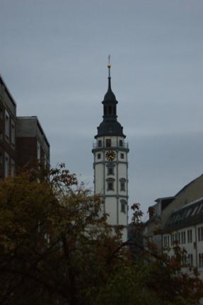 Rathausturm am Marktplatz
